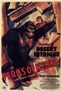 Perils of Nyoka - 11 x 17 Movie Poster - Style B