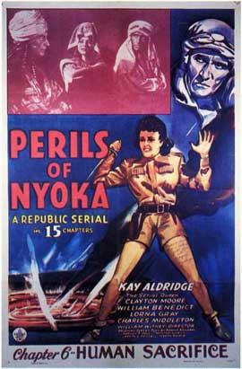 Perils of Nyoka - 11 x 17 Movie Poster - Style C