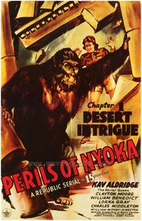 Perils of Nyoka - 43 x 62 Movie Poster - Bus Shelter Style A