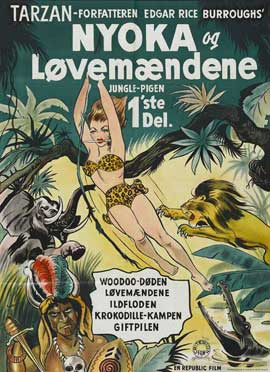 Perils of Nyoka - 27 x 40 Movie Poster - Danish Style A