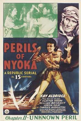 Perils of Nyoka - 11 x 17 Movie Poster - Style D