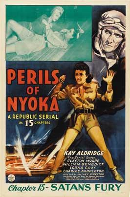 Perils of Nyoka - 11 x 17 Movie Poster - Style F