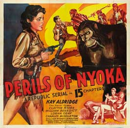 Perils of Nyoka - 27 x 40 Movie Poster - Style G
