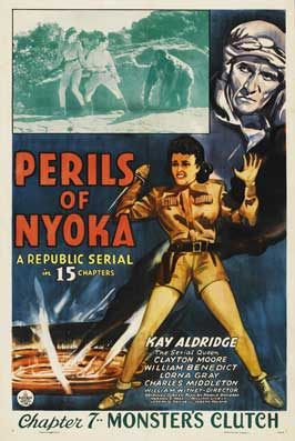Perils of Nyoka - 30 x 30 Movie Poster - Style A