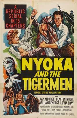 Perils of Nyoka - 27 x 40 Movie Poster - Style H
