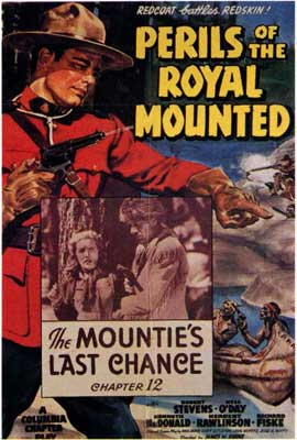 Perils of the Royal Mounted - 27 x 40 Movie Poster - Style A