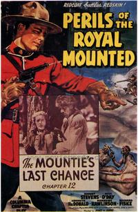 Perils of the Royal Mounted - 43 x 62 Movie Poster - Bus Shelter Style A