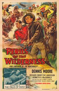 Perils of the Wilderness - 43 x 62 Movie Poster - Bus Shelter Style A
