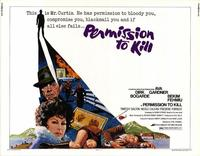 Permission To Kill - 11 x 14 Movie Poster - Style A