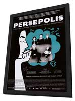 Persepolis - 11 x 17 Movie Poster - Style B - in Deluxe Wood Frame
