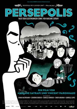 Persepolis - 11 x 17 Movie Poster - German Style A