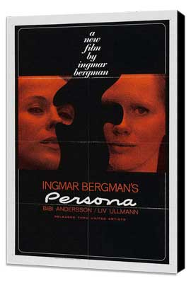 Persona - 11 x 17 Movie Poster - Style A - Museum Wrapped Canvas