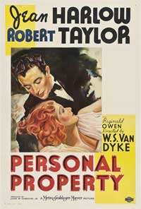 Personal Property - 27 x 40 Movie Poster - Style B