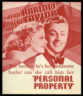 Personal Property - 30 x 30 Movie Poster - Style A