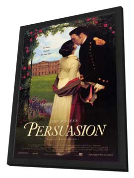 Persuasion - 11 x 17 Movie Poster - Style A - in Deluxe Wood Frame