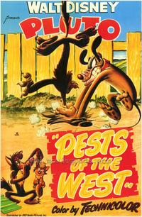 Pests of the West - 43 x 62 Movie Poster - Bus Shelter Style A