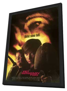 Pet Sematary 2 - 11 x 17 Movie Poster - Style C - in Deluxe Wood Frame
