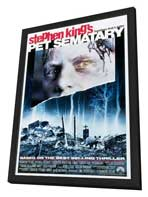 Pet Sematary - 11 x 17 Movie Poster - Style B - in Deluxe Wood Frame