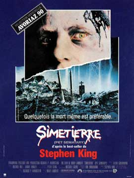 Pet Sematary - 11 x 17 Movie Poster - French Style A
