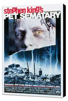 Pet Sematary - 11 x 17 Movie Poster - Style B - Museum Wrapped Canvas