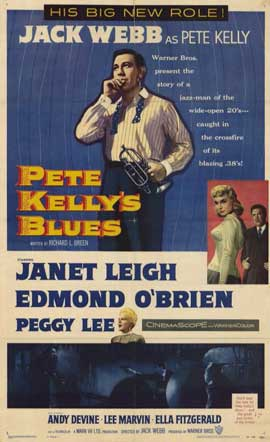Pete Kelly's Blues - 11 x 17 Movie Poster - Style A