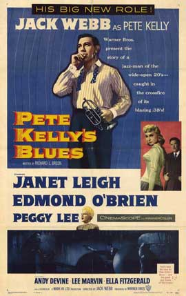 Pete Kelly's Blues - 27 x 40 Movie Poster - Style A