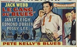 Pete Kelly's Blues - 11 x 17 Movie Poster - Belgian Style A