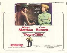 Pete 'n' Tillie - 11 x 14 Movie Poster - Style A
