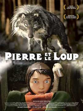 Peter & the Wolf - 11 x 17 Movie Poster - French Style A