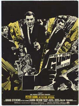 Peter Gunn, Special Detective - 27 x 40 Movie Poster - Belgian Style A
