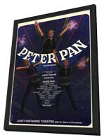 Peter Pan (Broadway) - 11 x 17 Poster - Style A - in Deluxe Wood Frame