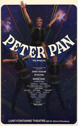 Peter Pan (Broadway) - 11 x 17 Poster - Style A