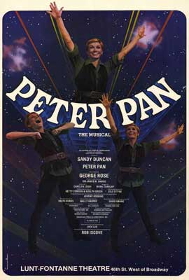 Peter Pan (Broadway) - 27 x 40 Movie Poster - Style A
