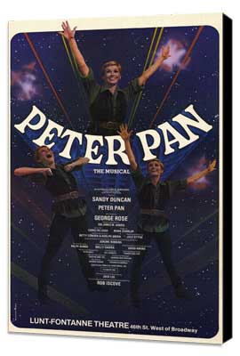 Peter Pan (Broadway) - 11 x 17 Poster - Style A - Museum Wrapped Canvas