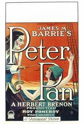 Peter Pan - 27 x 40 Movie Poster - Style A