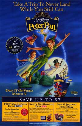 Peter Pan - 11 x 17 Movie Poster - Style A