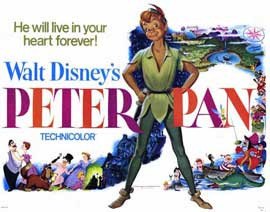 Peter Pan - 11 x 14 Movie Poster - Style A