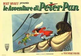 Peter Pan - 11 x 14 Poster Italian Style A