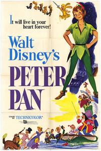 Peter Pan - 43 x 62 Movie Poster - Bus Shelter Style A