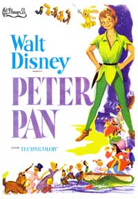 Peter Pan - 11 x 17 Movie Poster - Spanish Style B