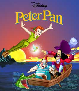 Peter Pan - 11 x 17 Movie Poster - Style F