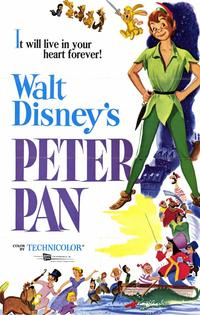 Peter Pan - 11 x 17 Movie Poster - Style A - Museum Wrapped Canvas