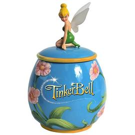 Peter Pan - Tinker Bell Flowers Cookie Jar