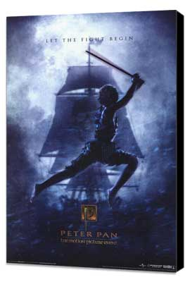 Peter Pan - 11 x 17 Movie Poster - Style B - Museum Wrapped Canvas