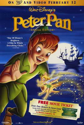 Peter Pan: Special Edition - 27 x 40 Movie Poster - Style A