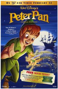 Peter Pan: Special Edition - 43 x 62 Movie Poster - Bus Shelter Style A