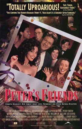 Peter's Friends - 11 x 17 Movie Poster - Style A