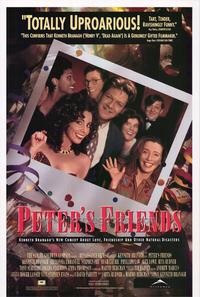 Peter's Friends - 27 x 40 Movie Poster - Style A