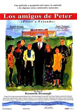 Peter's Friends - 11 x 17 Movie Poster - Spanish Style B