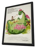 Pete's Dragon - 27 x 40 Movie Poster - Style B - in Deluxe Wood Frame